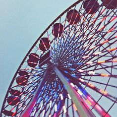 The Ferris wheel at