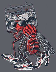 Rubens Scarelli Nike Illustrations