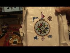 Brother PE Design Next-Marine Design sewing-Tutorial - Brother, NextMarine, sewingTutorial Brother Pe Design, Sewing Tutorials, Video Tutorials, Machine Embroidery Applique, Sewing Techniques, Quilts, Crafts, Videos, Manualidades