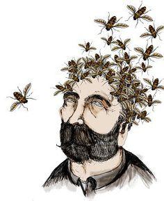 bees! and a beard!