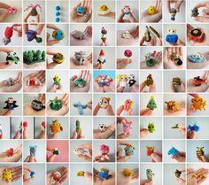 Anna Hrachovec mochimochiland  Teeny Tiny Knitting :D