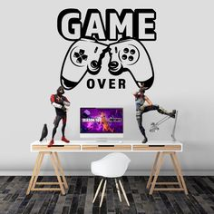 Playstation 5, Boys Room Decor, Wall Decals, Desk, Seasons, Stickers, Games, Home Decor, Products