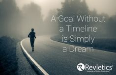 A Goal Without a Timeline is Simply a Dream.