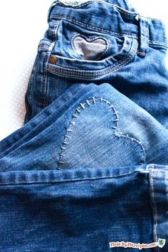 Here are a few modern methods for mending your child's worn-out jeans– without sacrificing style. How to:old jeansiron-on fusible interfacingflannel fabric scrapsdenim fabric scrapsthreadembroidery flossironsewing machinehand-sewing needlefabric glueLooking for more mending tips? Check out Modern Mending Part 2 and Modern Mending Part 1. The first thing you have to realize is that a patch is going to be …