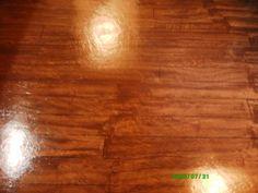 Hand painted faux hardwood cement floor......a definite Lake Lure basement floor fix!!
