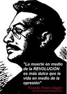 16 de septiembre de 1873: (141 aniversario de natalicio del anarquista Ricardo Flores Magón)