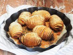 Hasselbackan perunat, edullista ja helppoa lähiruokaa.
