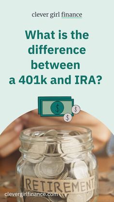 As you start the plan for your retirement, understanding the difference between 401k and IRA accounts will be helpful. Although both are common ways to save and invest for your future, each offers distinct advantages.  Today we will take a closer look at both of these types of retirement accounts. Plus, how to include the best fit in your retirement plans. Ira Retirement, Retirement Accounts, Saving For Retirement, Paying Off Student Loans, Saving For College, Money Saving Tips, Money Tips, Managing Your Money
