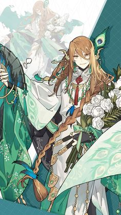 Cre : 食物語 Character Concept, Character Art, Concept Art, Character Design, Character Inspiration, Anime Chibi, Manga Anime, Fantasy Art Men, Cute Anime Guys