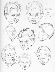 (The toddler) drawing people, croquis, toddler drawing, children drawing, c Baby Face Drawing, Toddler Drawing, Drawing For Kids, Children Drawing, Drawing Sketches, Art Drawings, Drawing Tips, Pencil Drawings, Drawing Heads
