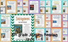 This bundle contains all 30 stories for the  2014 4th Grade Journeys: Units 1, 2, 3, 4, 5, and 6.There are a total of 240 student pages to be used as supplemental activities. If you are interested in just buying one story or one unit, they are all located in my store.