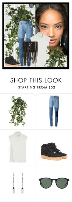 """Malaika Firth"" by aliakolli ❤ liked on Polyvore featuring OKA, Paige Denim, Helmut Lang, NIKE, Isabel Marant, Polo Ralph Lauren and Yves Saint Laurent"