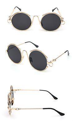メガネ全金属メタル製丸いサングラス通販サングラス