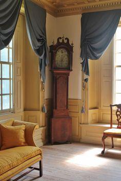 Alexander Hamilton's Life at Schuyler Mansion Colonial Mansion, Georgian Interiors, American Interior, Colonial Furniture, Alexander Hamilton, Fine Furniture, Historic Homes, New Homes, Mansions