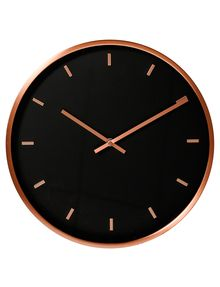 This copper wall clock will be an on-trend addition to your home decor. Copper Wall, Stylish Home Decor, Home Decor Shops, Clock, House Styles, Decorating, Shopping, Board, Christmas
