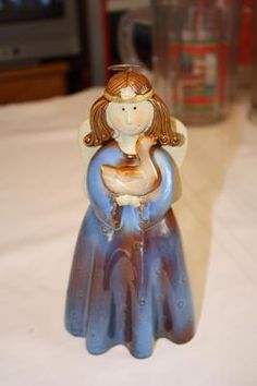 "Pottery Angel 7 3/4"" no markings $8"