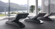 Health spa loungers carved from a solid Italian marble luxury relaxation from Leisurequip
