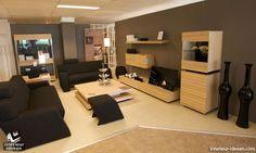 Bruine woonkamer