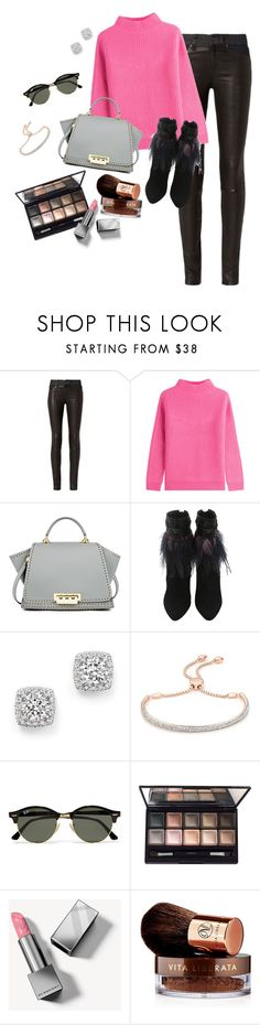 """""""Pink Casual"""" by arlecia1988 ❤ liked on Polyvore featuring rag & bone, Diane Von Furstenberg, ZAC Zac Posen, Christian Dior, Bloomingdale's, Monica Vinader, Ray-Ban, By Terry, Burberry and Vita Liberata"""
