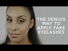 The Game-Changing Hack For Applying False Lashes