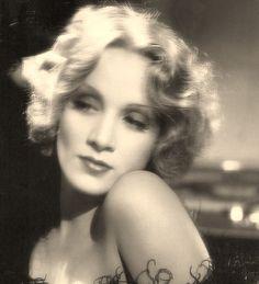 Marlene Dietrich beautiful photo of her