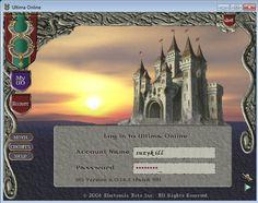 I forgot my log on info lol Ultima Online, Electronic Art, My Precious, Nerd Stuff, My Life, Diy Projects, Lol, Memories