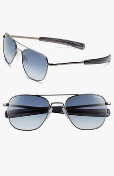Randolph Engineering Randolph Engineering 'Aviator' 55mm Sunglasses available at  #Nordstrom