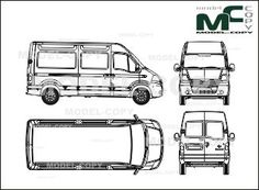 Mercedes-Benz Vito, to mix with high roof, sliding door 1
