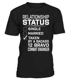 12 Bravo Combat Engineer - Relationship Status