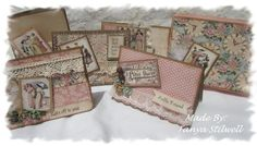 "Graphic 45 ""A Ladies Diary"" Card set."