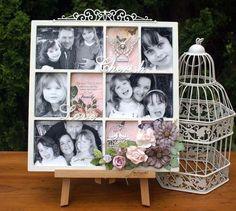 Family Frame for Scrapmatts