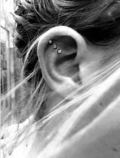 love the placement of these piercings