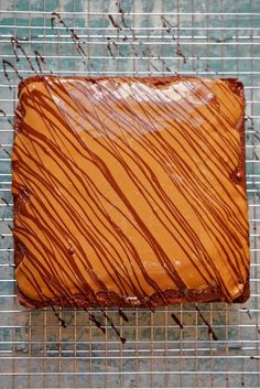 Gingerbread Speculoos & Dark Chocolate Cake (Drizzle on the bias and shoot on rack)