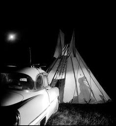 Burt Glinn, Life on an Assiniboine Indian reservation, Montana, 1954