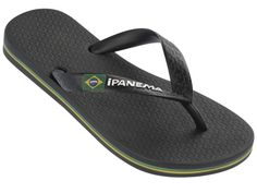 Ipanema Classic Brasil Sandal for Kids - black - new collection 2014