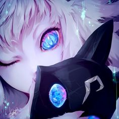 Anime picture league of legends kindred (league of legends) kakip (pixiv long hair single looking at viewer fringe blue eyes blonde hair holding signed white hair one eye closed fingernails close-up face long fingernails covered mouth girl fur 483471 en Lol League Of Legends, Katarina League Of Legends, League Of Legends Characters, Art Anime, Anime Kunst, Manga Art, Demon Manga, League Of Legends Personajes, Regard Animal