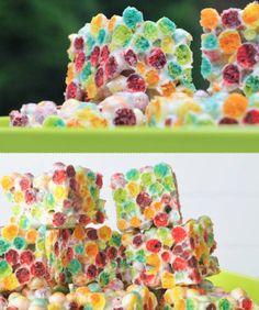 Rainbow Trix Crispies