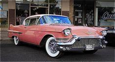 1957 Cadillac Coupe de Ville.