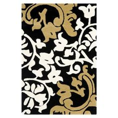 Safavieh SOH760C Soho Area Rug, Black / Multi