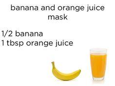 I got Banana and Orange Juice Mask! Which DIY Face Mask Should You Use?