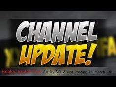 Channel Update Roblox Gameplay, Channel, Youtube, Youtubers, Youtube Movies
