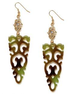 Lace Dagger Drops - Love these earrings