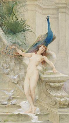 Guillaume Dubufe (1853-1909), Hébé - 1887