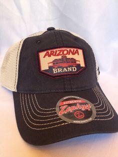 922dcd07e68 Arizona Wildcats Cap Zephyr Adjustable Mesh Snapback Roadside Trucker Hat  Patch  Zephyr  ArizonaWildcats