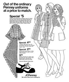 1613 best fashion old fashioned images in 2019 vintage fashion Black 1966 Clothing Fashions jcpenney february 1973