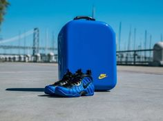 Nike Foamposite Special Packaging Golden Air - SBD