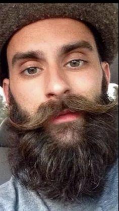 Handlebar Mustache, Beard No Mustache, Moustache, Great Beards, Awesome Beards, Well Groomed Beard, Barber Man, Handsome Bearded Men, Mustache Styles