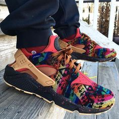 Pendleton Nike Huarache iDs. Did you make a pair?