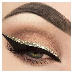 Makeup inspiration ❤ liked on Polyvore featuring beauty products, makeup, eye makeup, eyeshadow, liquid eye liner and liquid eyeliner