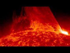 Erupción de una protuberancia solar desde el SDO